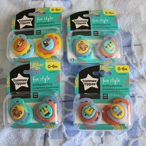 New baby 2 set pacifiers
